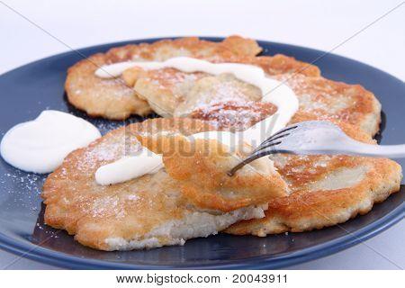 Potato pan cakes