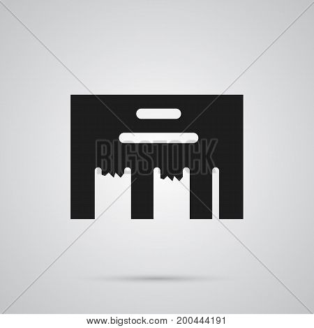 Isolated Direct Message Icon Symbol On Clean Background