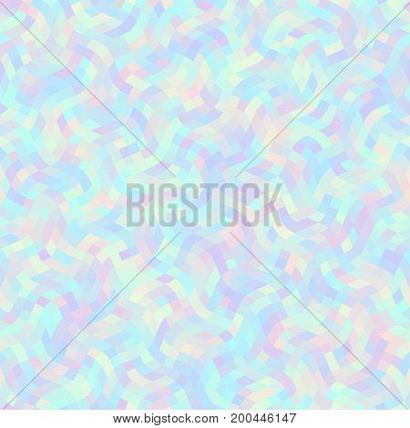 Seamless background. Geometric abstract pattern in low poly wavy style.