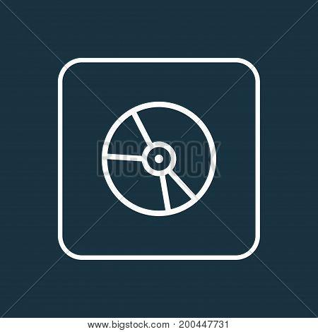 Premium Quality Isolated Plastic Element In Trendy Style.  Vinyl Outline Symbol.