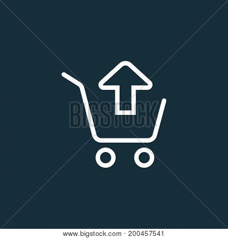 Remove From Shopping Card, Trolley Icon