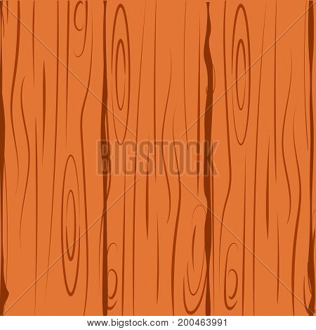 Wood texture vector illustration natural plank floor vintage hardwood retro timber old wall surface. Wooden Background home interior striped structure.