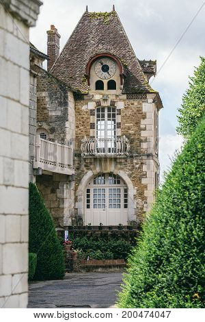 Abbey in France Pontigny the former Cistercian abbey in France one of the five oldest and most important monasteries of the order.