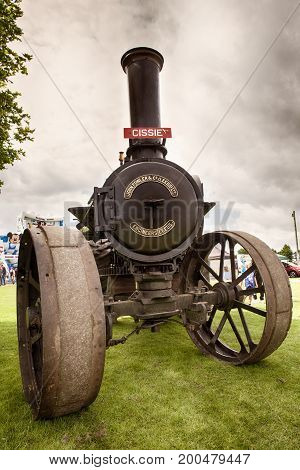 Vintage Steam Engine At Truckfest 2017