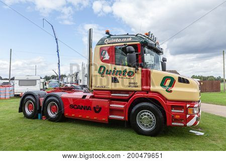 Quinto Truck At Truckfest Norwich Uk