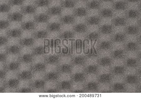 Grey Foamed Rubber