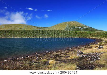 Lagoa Rasa, Flores Island, Azores, Portugal, Europe