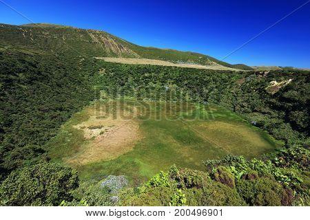 Caldeira Rasa, Flores Island, Azores, Portugal, Europe