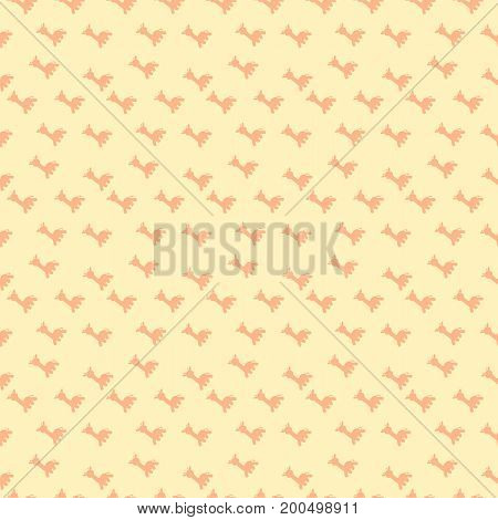 a background of giraffes in silhouette with peach color