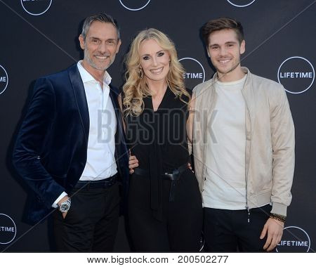 LOS ANGELES - AUG 16:  JD Ostojic, Janis Ostojic, Martina Ostojic at the