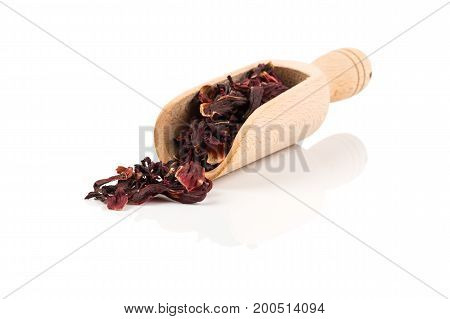 Heap Of Aromatic Hibiscus Tea