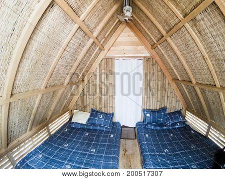 basic bungalow interior