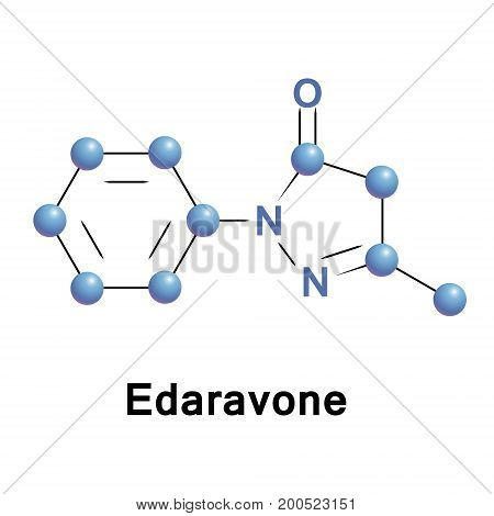 Edaravone is an intravenous medication used to help with recovery following a stroke and to treat amyotrophic lateral sclerosis