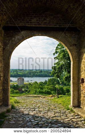 Nebojsa tower - between Kalemegdan fortress and Danube river, Belgrade, Serbia