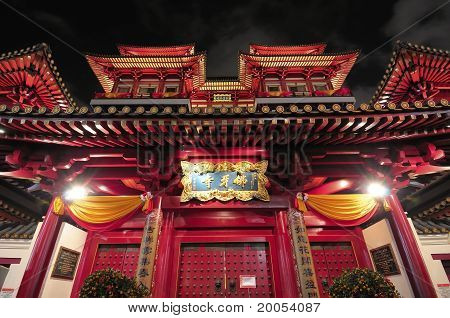 Oriental Temple Architectural Design