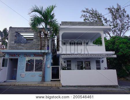 Buildings In Port Louis, Mauritius