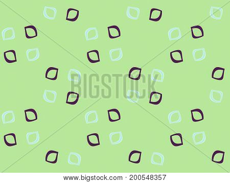 Abstract multicolored illustration. Polka dot pattern. Seamless pattern. Mosaic background texture. Computer generated
