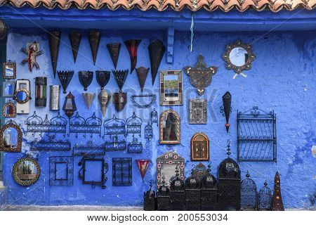 Chefchaouen the blue city in the Morocco is a popular travel destination