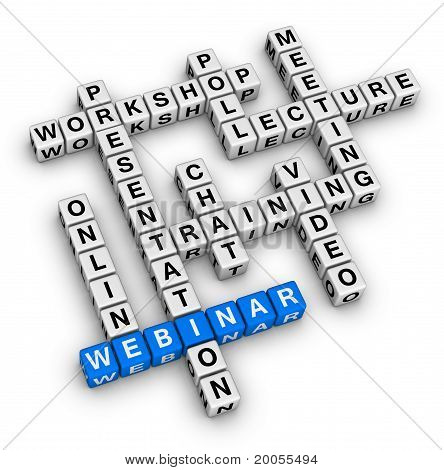 Webinar Structure Crossword