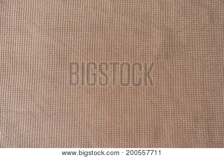 Cream Colored Plain Polyester Fabric From Above
