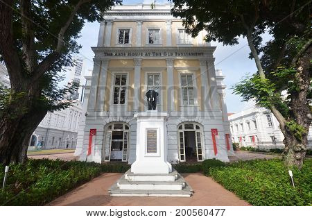 The Arts House, Formerly Old Parliament House, In Singapore