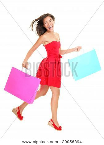 Shopper - Frau einkaufen