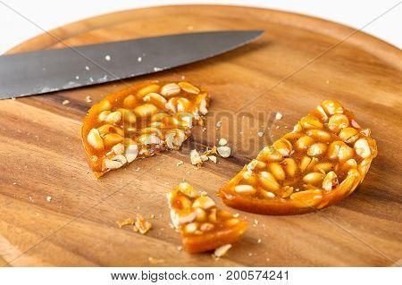 Kozinaki Made From Peanuts In Caramel