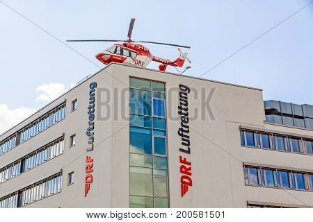 Air Rescue Helicopter (luftrettung), Germany, German