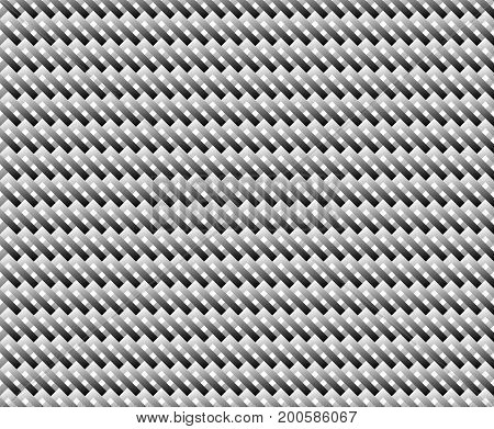 Checkered background of strict geometric patterns. Black and white