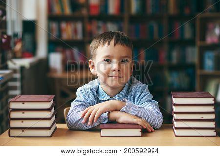Boy Ready For School