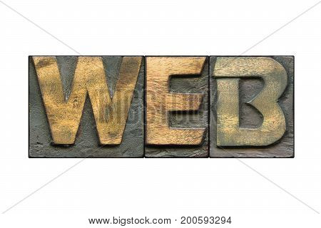 Web Word Isolated