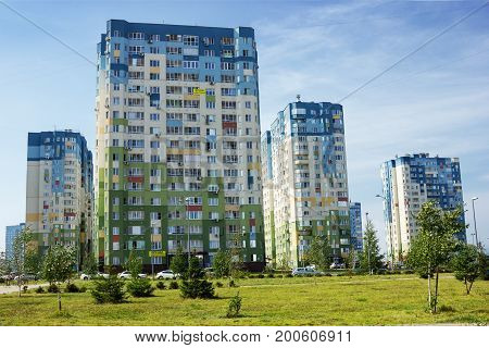 In Nizhny Novgorod, A Lot Of Modern Houses