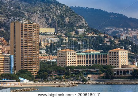 Monaco, Monte Carlo. Monaco is the second smallest and the most densely populated country in the world.
