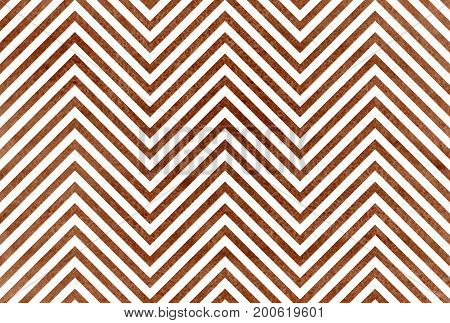 Watercolor Brown Stripes Background, Chevron.