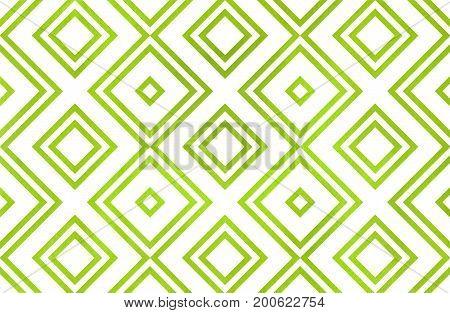 Watercolor Geometrical Pattern.