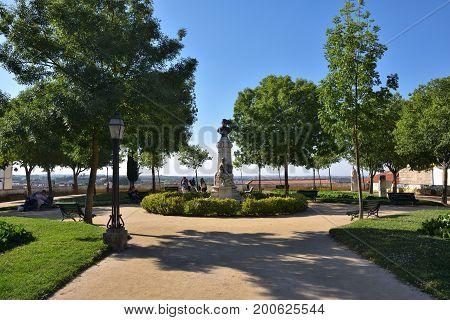 Portugal, Evora, The Diana Garden