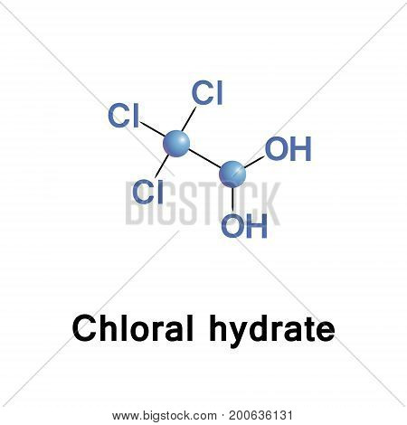 Chloral hydrate is a geminal diol with the formula C2H3Cl3O2. It has limited use as a sedative and hypnotic pharmaceutical drug. It is also a useful laboratory chemical reagent and precursor