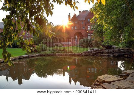 St. Louis Missouri USA - August 18 2017: Saint Louis University in St. Louis Missouri.