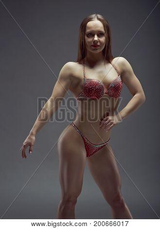 Woman  Athletic Body .