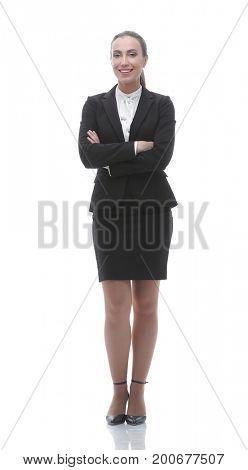 portrait of confident female Manager