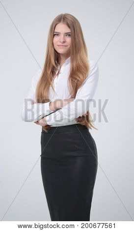 portrait of a successful female Manager