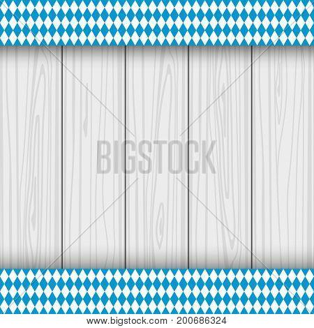 Texture of the Bavarian flag vector illustration
