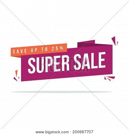 Big sale style price label collection stock vector illustration