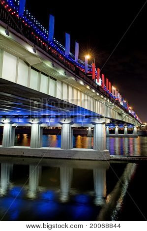 Bridge With Illuminated