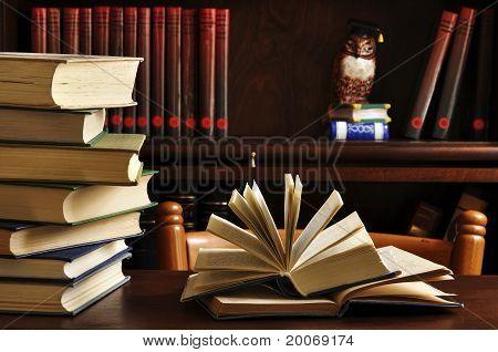 Books Opened