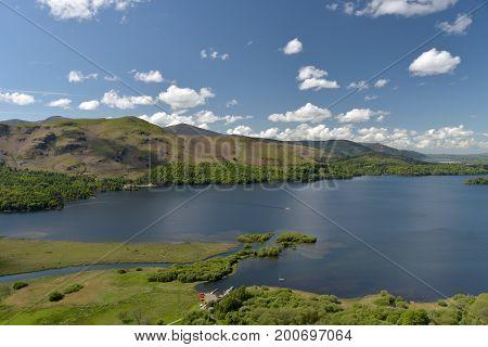 Surprise View above Derwentwater, English Lake District