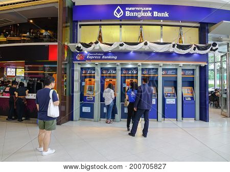 Atm Machines In Bangkok, Thailand