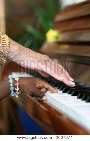 Ebony And Ivory Harmony