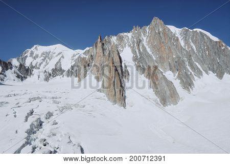 Mont blanc is the highest mountain of historic europe m altitude.
