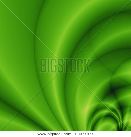 Cell green abstract background